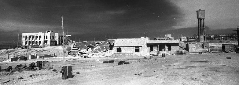 Руины Тобрука после занятия Союзниками.