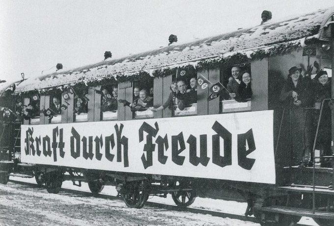Туристический поезд «Kraft durch Freude».