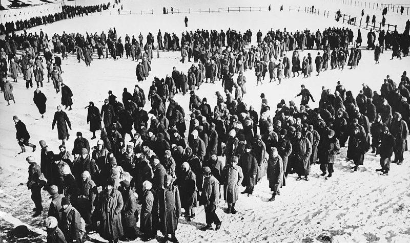 Венгерские и итальянские военнопленные из «котла».