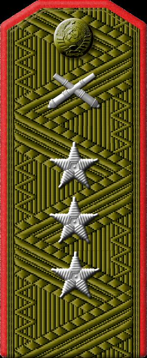 Полевой погон генерал-полковника артиллерии.