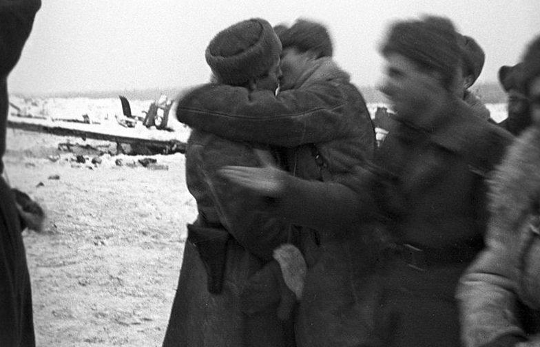 Встреча войск двух фронтов. 18 января 1943 г.