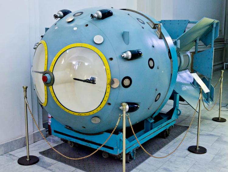 Первая советская атомная бомба.