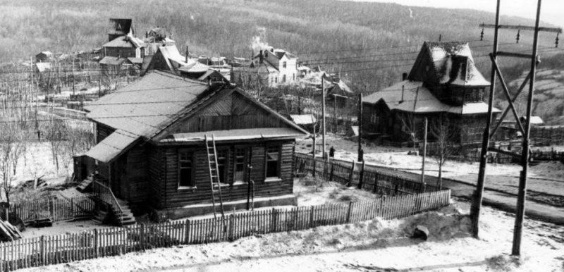 Финские домики для немецких специалистов.