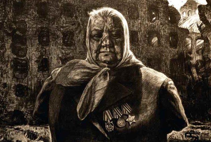 «Опаленные войной». Фронтовая радистка Юлия Степановна Еманова. Волгоград. 1975 г.