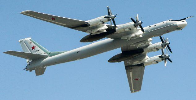 Ту-95 с двигателями, созданными немцами.