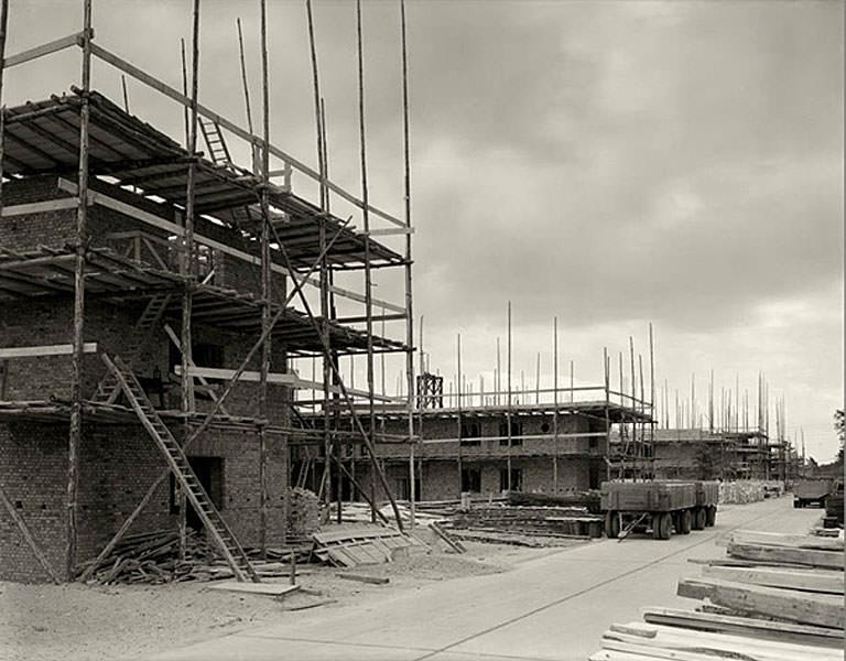 Строительство санатория.