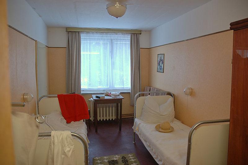 Комната в санатории.