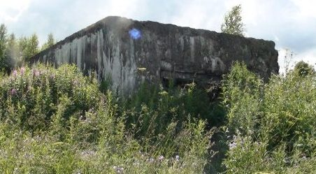 ДОТ у деревни Драньково.