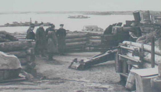 152-мм орудия береговой батареи №569.