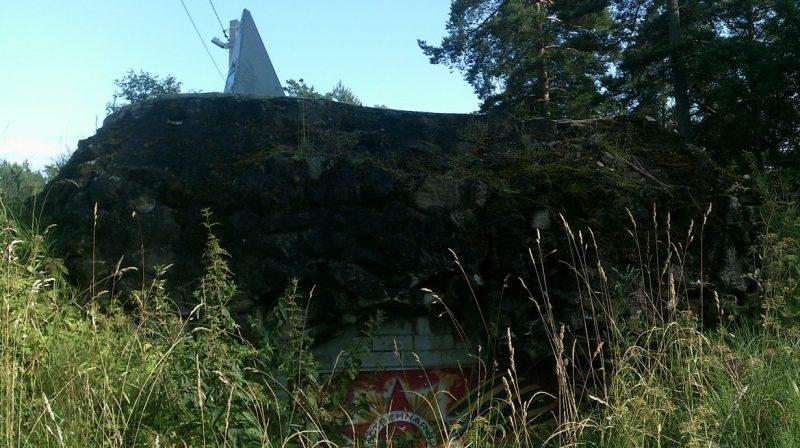 ДОТ №23 на Лангиной горе.