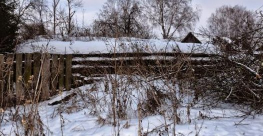 ДОТ в деревне Слойково.