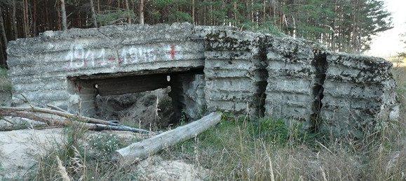 ДОТы Брянского укрепрайона.