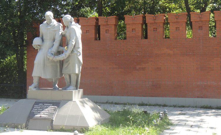 г. Тула. Памятник на братской могиле на Спасском кладбище.