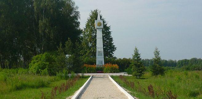 с. Алешня Тульского городского округа. Братская могила советских воинов.