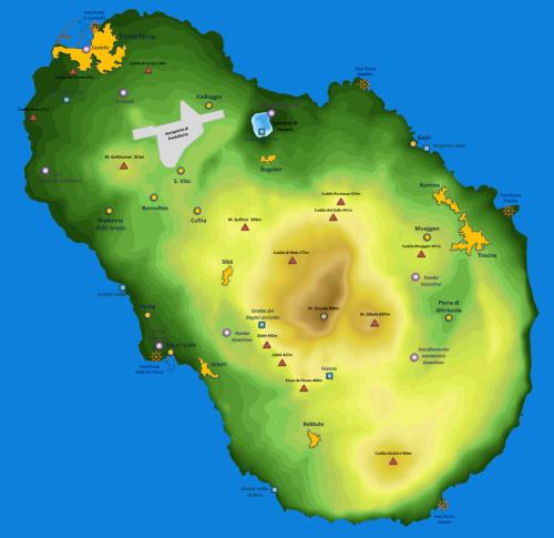Карта острова.