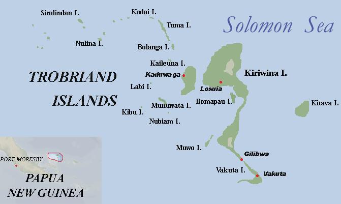 Тробрианские острова