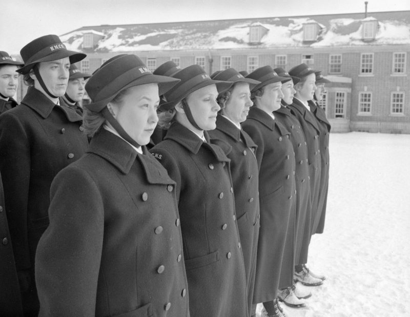 Курсанты школы WRCNS. Декабрь 1942 г.