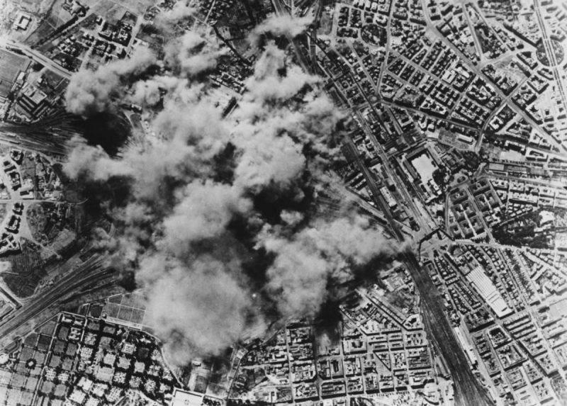 Бомбардировка Рима 19июня 1943 г.