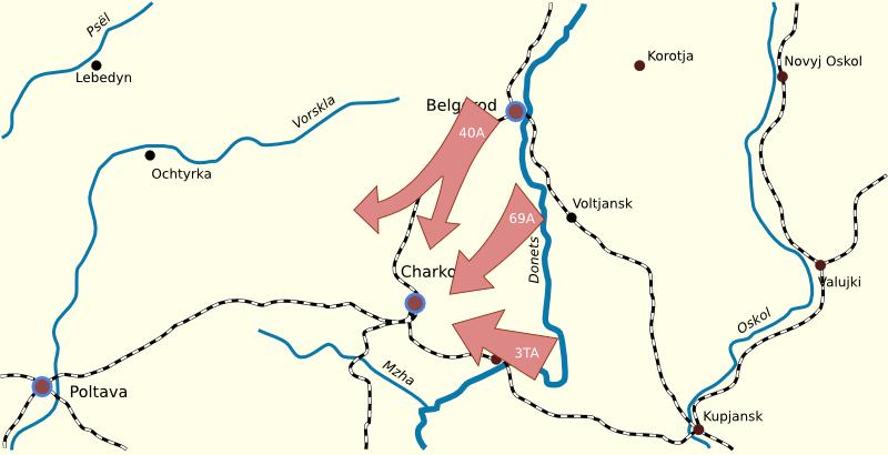 Боевые действия Красной Армии 10 -14 февраля 1943 г.