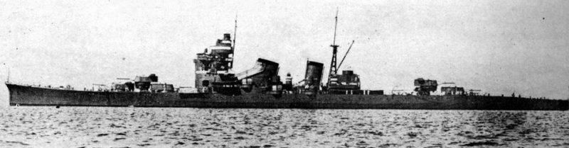 Японский тяжелый крейсер «Нати».
