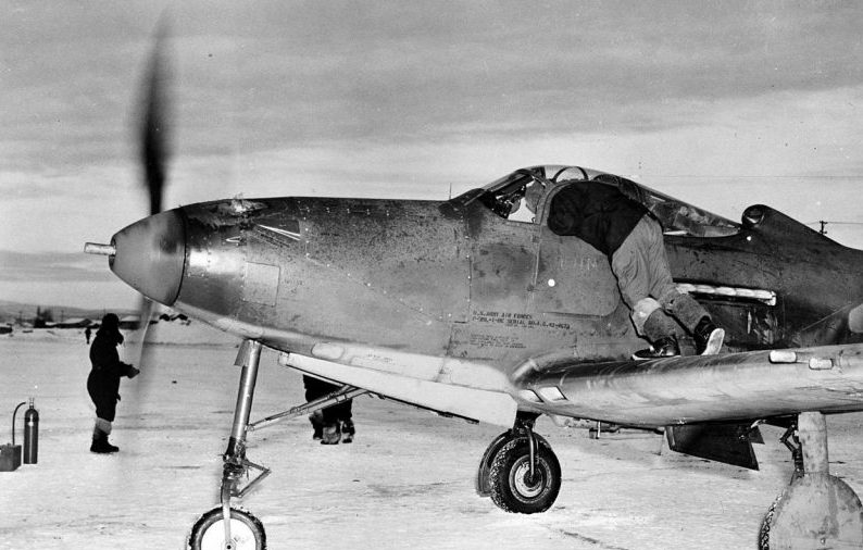 Р-39 Airacobra, принимавшие участие в боях в небе Кубани.