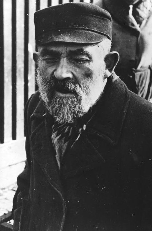 Жители гетто. 1940 г.