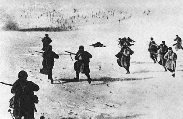 Наступление советских войск у Ржева.