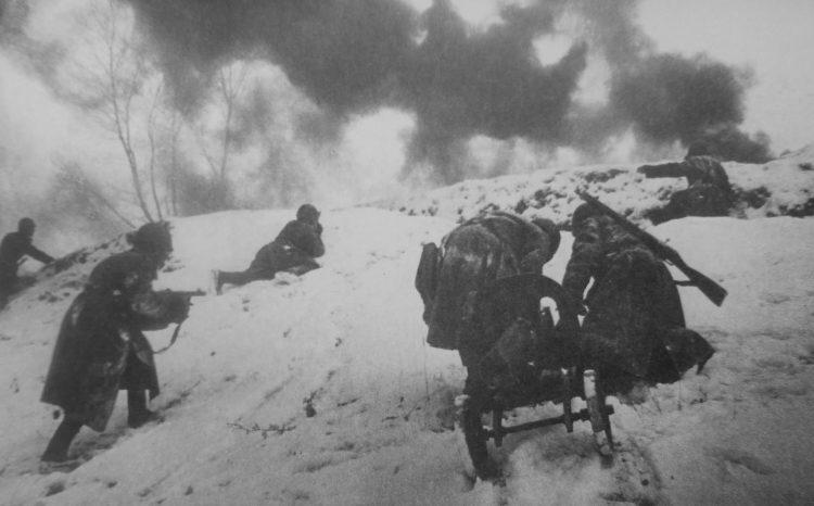 Наступление советских войск по Старой Руссой.