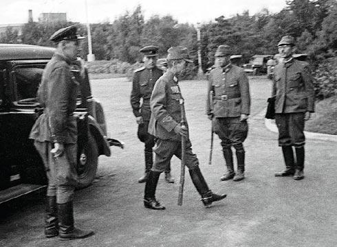 Капитуляция японских войск.