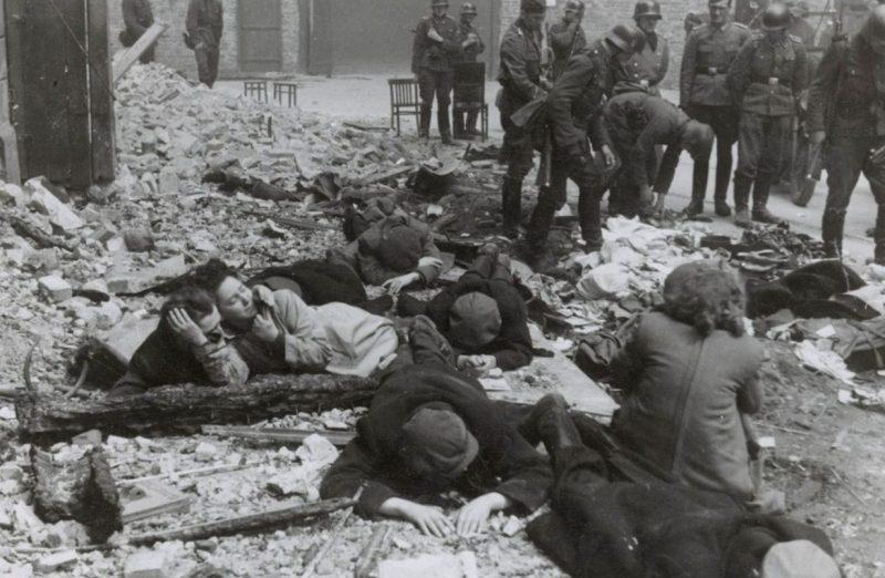 Гетто после подавления восстания.