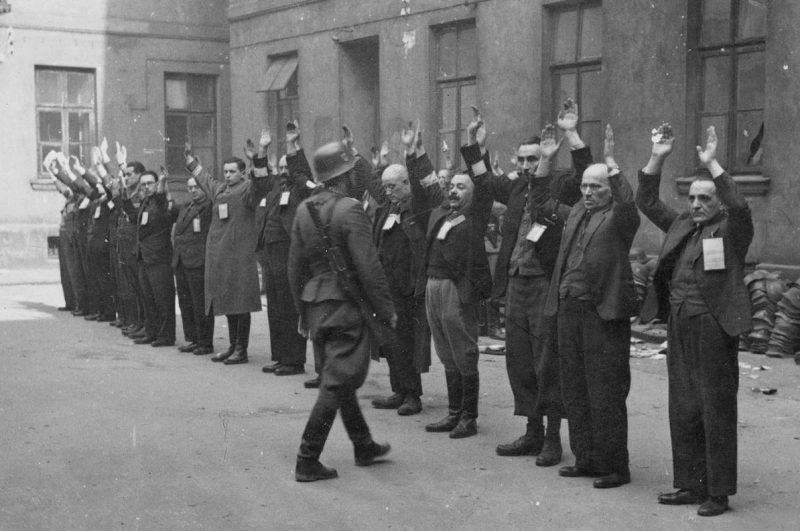 Варшавское гетто.