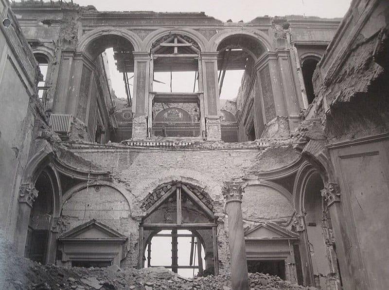Разрушения в Риме.