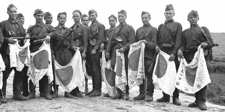 Трофеи советских войск.