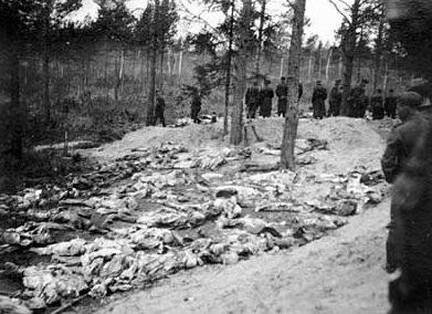Останки тел, подвергавшиеся исследованию.