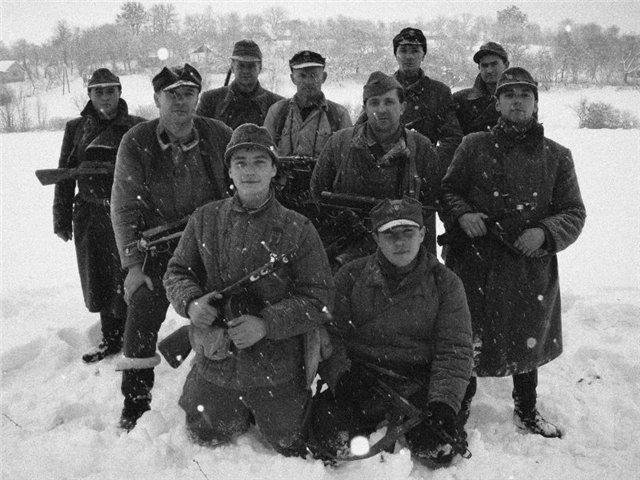 Бойцы УПА в период проведения операции.