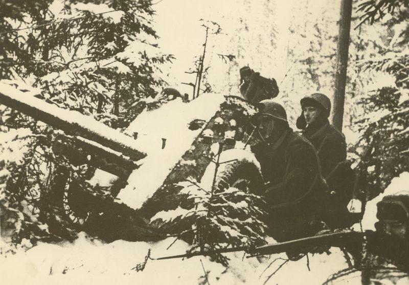 Оборона города. Ноябрь 1941 г.