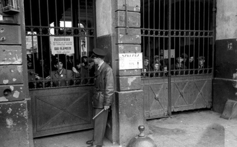 Стена гетто. Май 1941 г.
