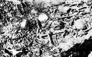 Человеческие кости на берегу реки Йонгу.