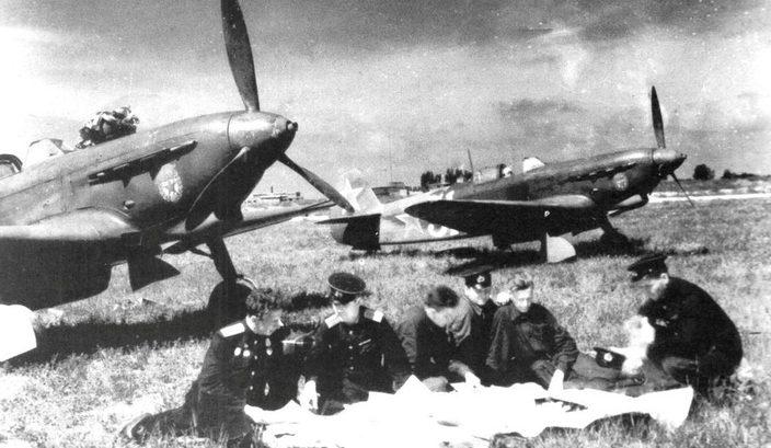 Советские аэродромы на Кубани.