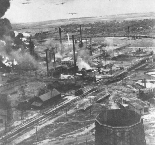 Атака румынских нефтепромыслов.