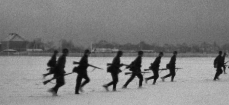 Немцы под Тихвином. Ноябрь 1941 г.