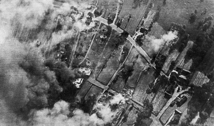 Бомбардировка Астрахани. 1941 г.