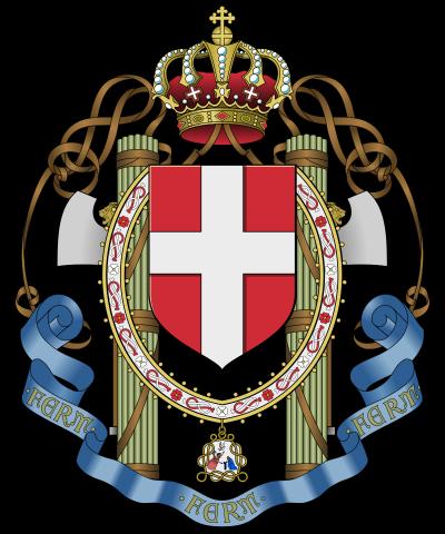 Герб OVRA в годы войны.