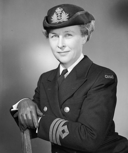Аделаида Синклер - директор WRCNS. Июль 1944 г.