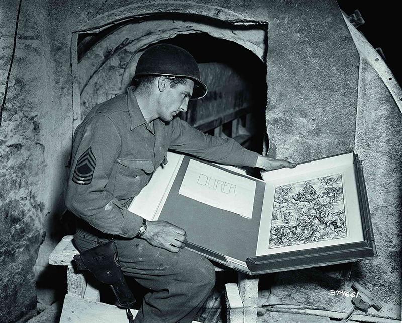 Рисунки Дюрера из коллекции Геринга, подаренные им фюреру.