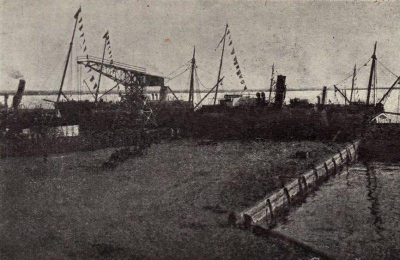 Архангельский порт. 1941 г.