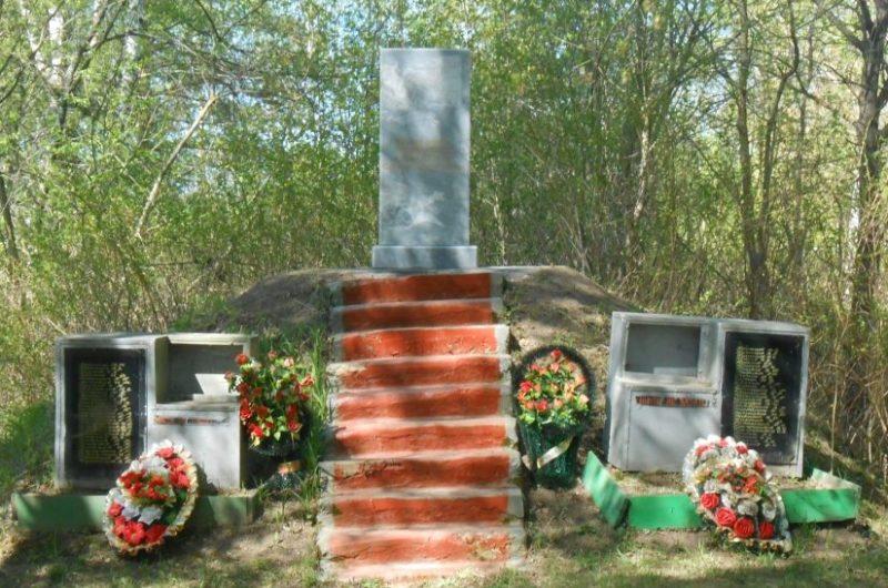 д. Баздрево Дубенского р-на. Памятник, установленный в 2017 году на братской могиле советских воинов, погибших в годы войны.