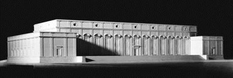 Модель одного из зданий музейного комплекса.