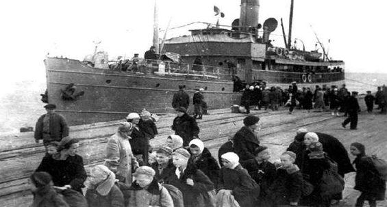 Пассажирские перевозки. 1942 г.