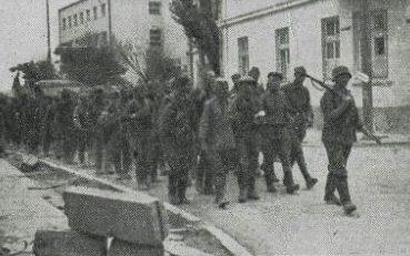 Пленные красноармейцы. Июнь 1941 г.
